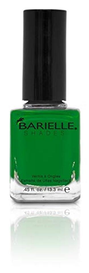 スイス人雰囲気反抗BARIELLE バリエル グリーンwithエンビー 13.3ml Green With Envy 5234 New York 【正規輸入店】