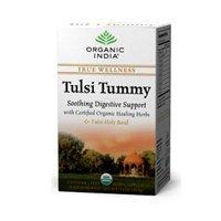 ORGANIC INDIA TULSI TEA,OG2,TUMMY, 18 BAG by Organic India