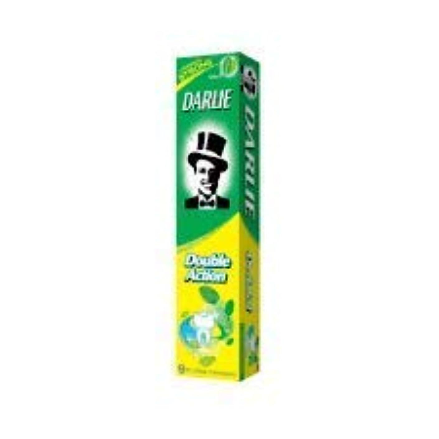 マングルピクニックをする伴うDARLIE ナチュラルミント百グラムの黒歯磨き粉歯磨き粉二重の役割は - 歯を強化し、虫歯を防ぐためにフッ化物を追加します