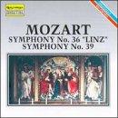 """Symphonies 36 & 39 """" Linz """""""