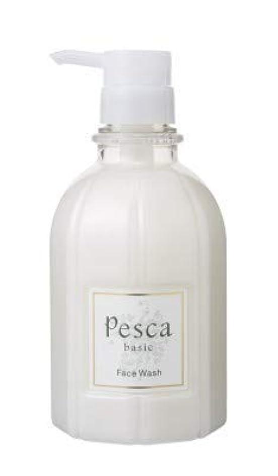 桃貫通する喉が渇いたペスカ フェイスウォッシュ ビッグボトル 500mL