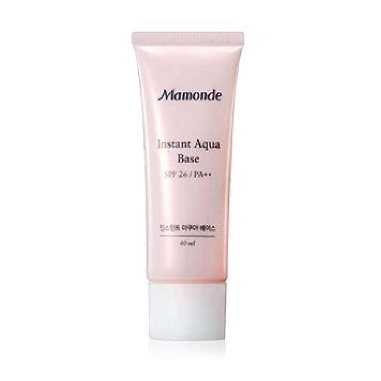 導体胃明確なマモンド インスタントアクアベース40ml / Mamonde Instant Aqua Base SPF26 PA++ [並行輸入品]