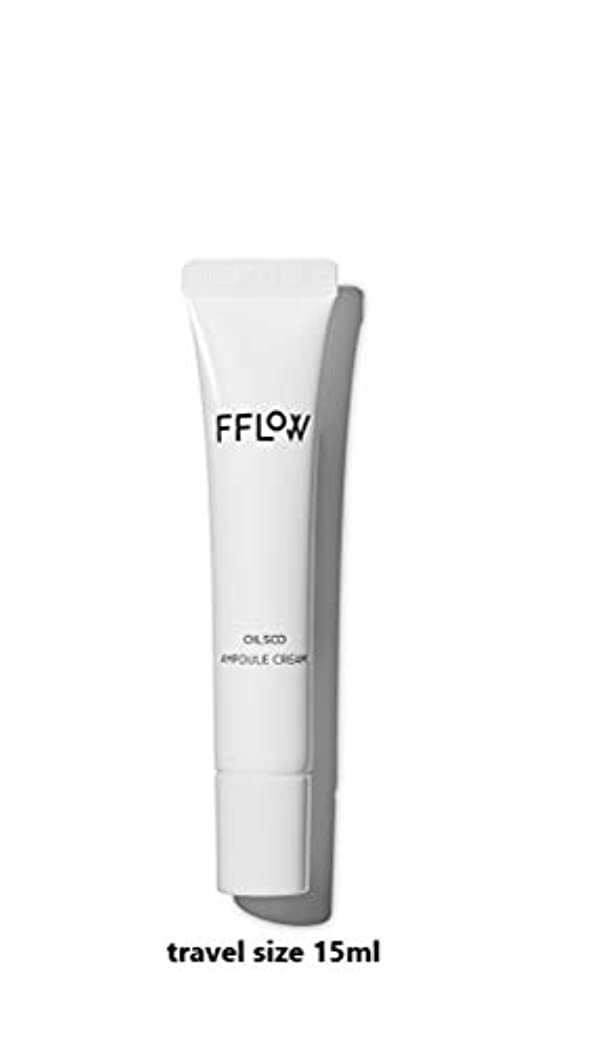 落ち着くラベ担当者FFLOW ☆フロー Oilsoo Ampoule Creamオイル水アンプルクリーム(travel size 15ml)[並行輸入品]