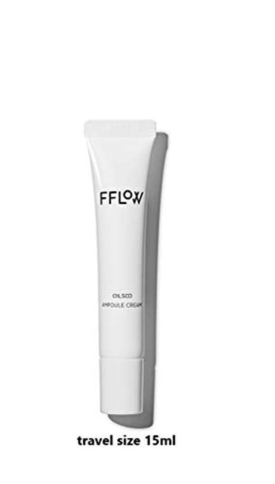急流たっぷり事務所FFLOW ☆フロー Oilsoo Ampoule Creamオイル水アンプルクリーム(travel size 15ml)[並行輸入品]
