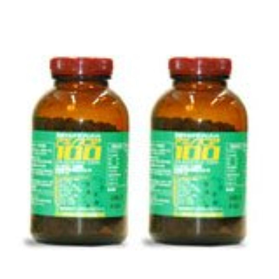 絶滅したカルシウム悪いアミノスコア100 2個セット 1000粒x2