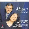 Mozart:Sonata For 2 Pianos, Andante And 5 Variations, Etc by Argerich & Rabinovitch (2004-01-21)