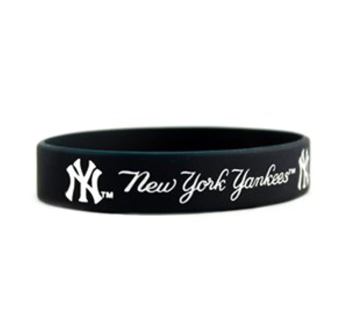 ルアーはねかける宿泊New York Yankees (ニューヨーク ヤンキース) Fragranced Bracelet x 3 個 by New York Yankees for Men
