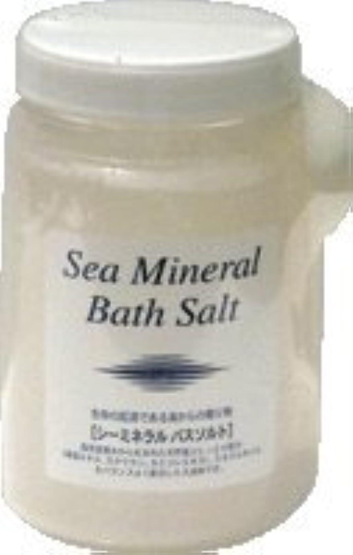 皮再生気難しいシーミネラルバスソルト(入浴剤) 1350g×6個セット