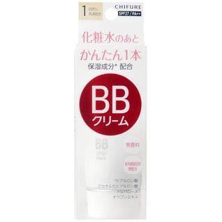 ちふれ(CHIFURE) BB クリーム 1 自然な普通肌色 B00VV37ZYY 1枚目