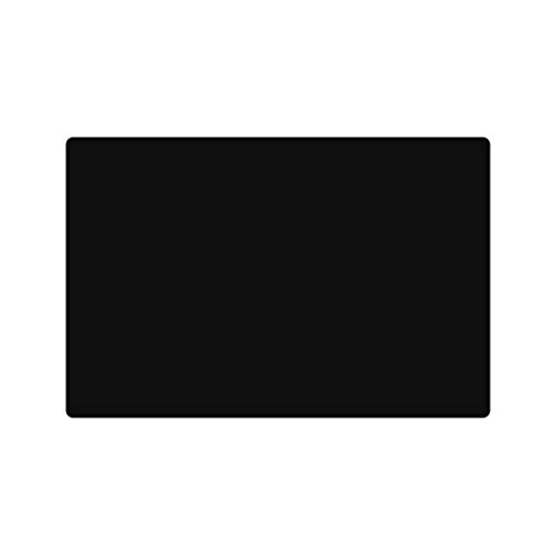 Eshinny 大きい シリコン ゴム マット 60X40CM 断熱 保護 耐熱温度-40℃-230℃ (ブラック)