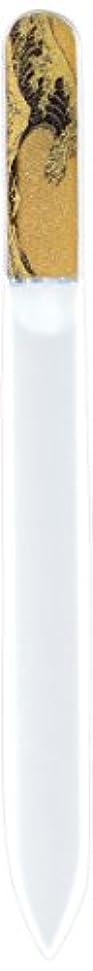 予測民主党制限橋本漆芸 ブラジェク製高級爪ヤスリ 特殊プリント加工 波裏 OPP