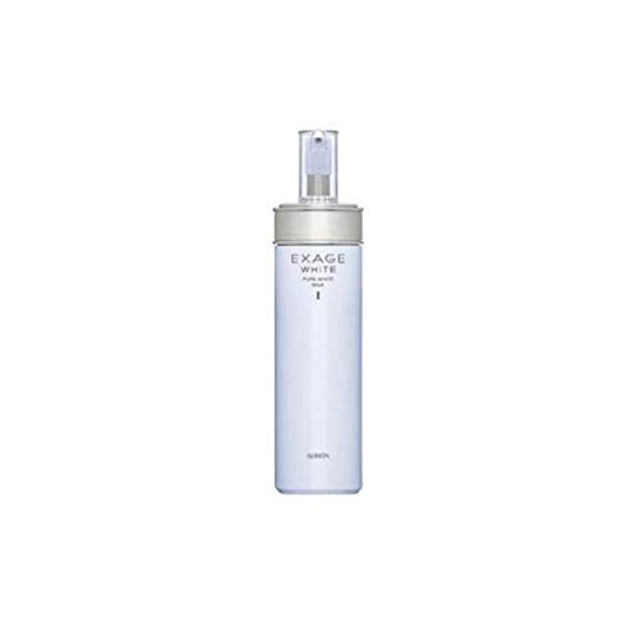 バスケットボール出力プットALBION(アルビオン) エクサージュホワイト ピュアホワイト ミルク I 200g [ 乳液 ]