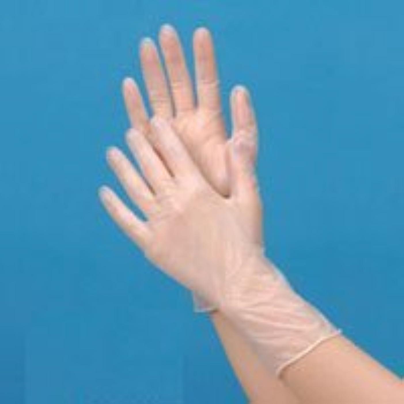 ジーンズアンドリューハリディ放つプラスチック手袋ハイクリーン(パウダーフリー)S 100枚【食品対応】