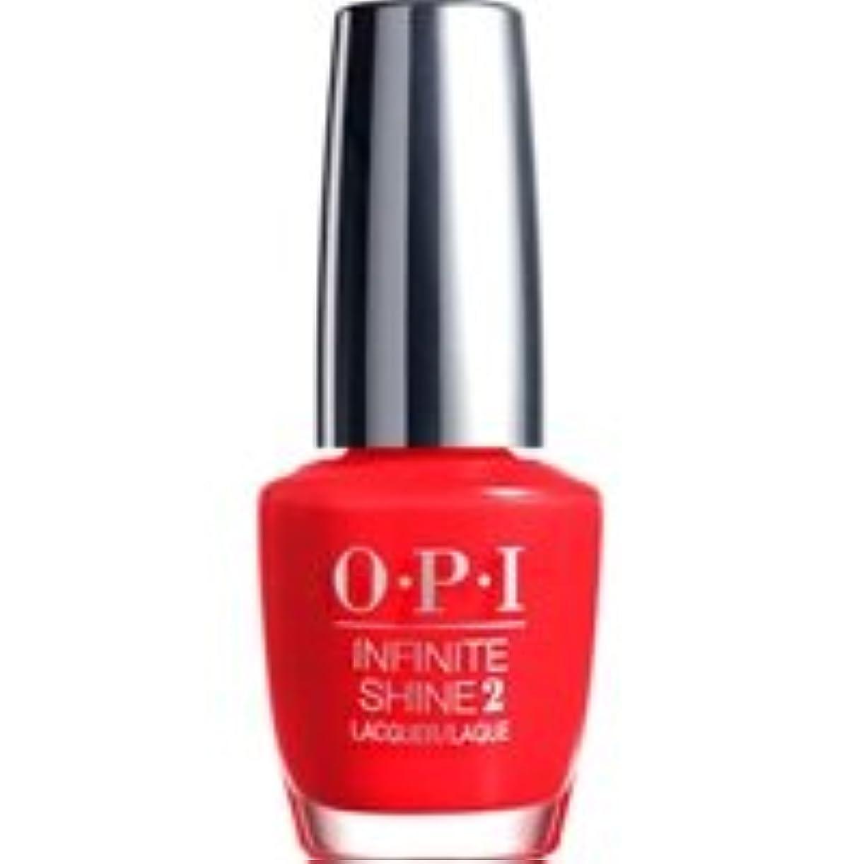 ライナー化学落ちたO.P.I IS L08 Unrepentantly Red(アンリペンタントリーレッド) 15ml