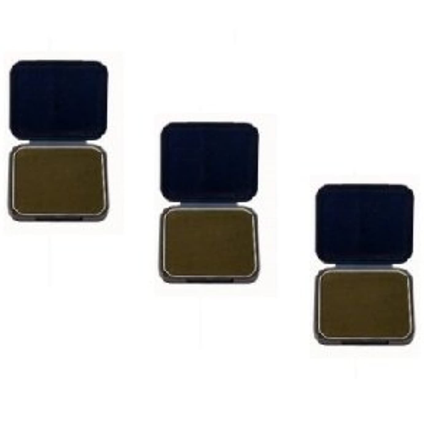 付属品お気に入り立ち向かう【3個セット】 アモロス 黒彩 ヘアファンデーション 13g 栗 詰替え用レフィル
