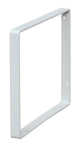 RoomClip商品情報 - Weekend Workshop シェルフフレーム スクエア 1本 1×6木材・パイン材用 石膏ボードピンまたはネジで取付 白 WFW-16