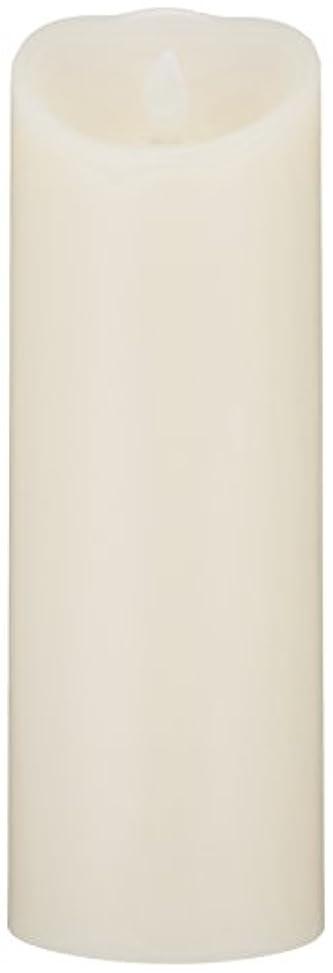 受け入れたコテージ忠実にLUMINARA(ルミナラ)ピラー3×8【ギフトボックス付き】 「 アイボリー 」 03070030BIV