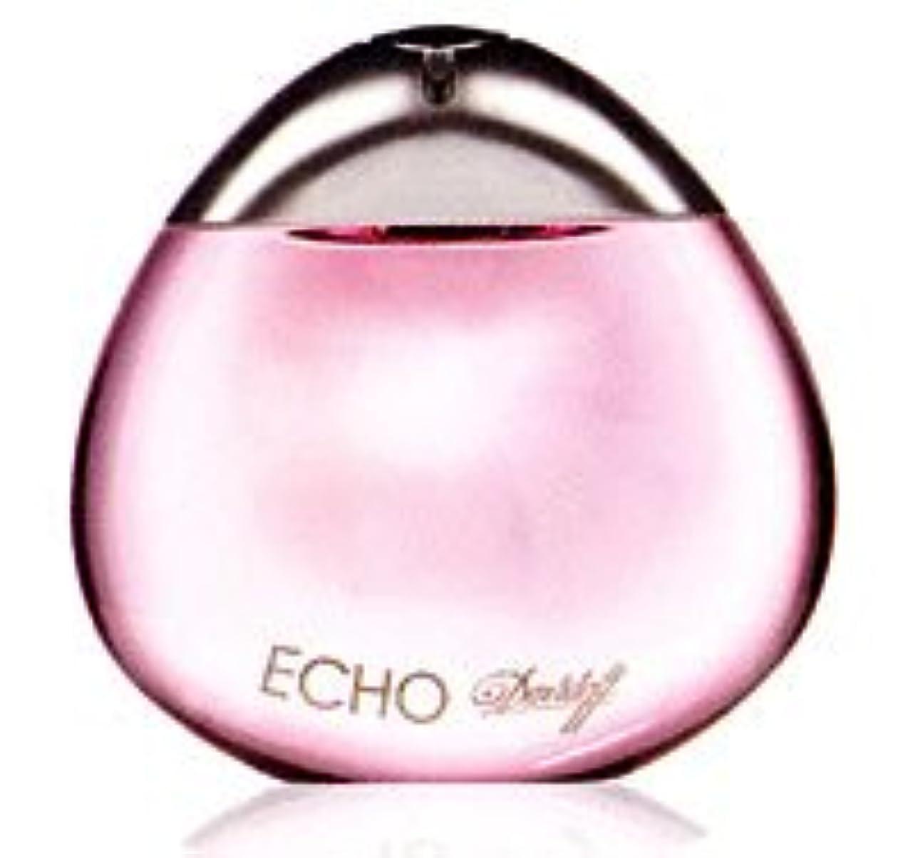 シールにぎやか用心するEcho (エコー)3.4 oz (100ml) EDP Spray by Davidoff for Women
