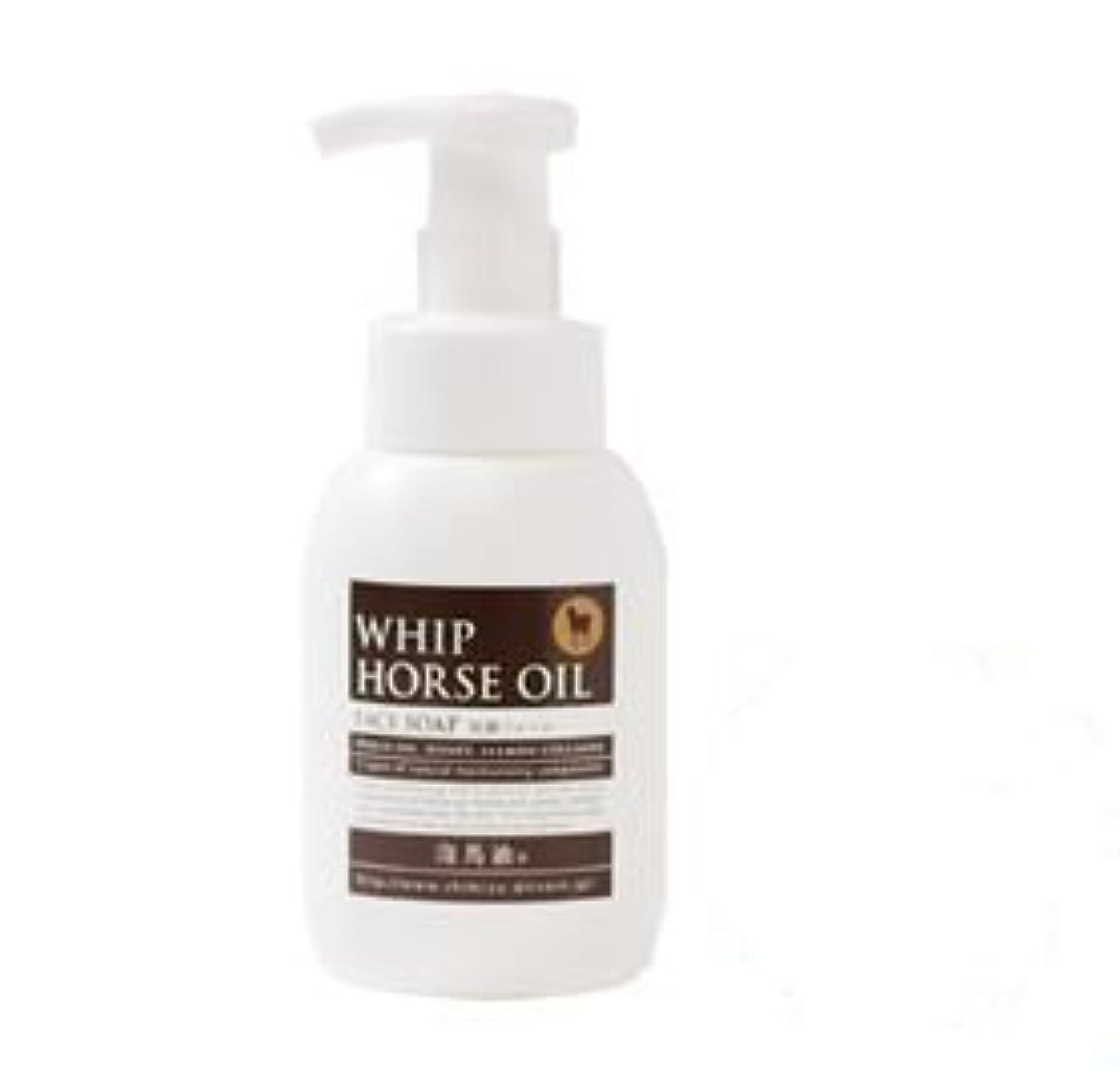 ヒープ含意成功馬油配合洗顔フォーム 泡馬油タンク300ml