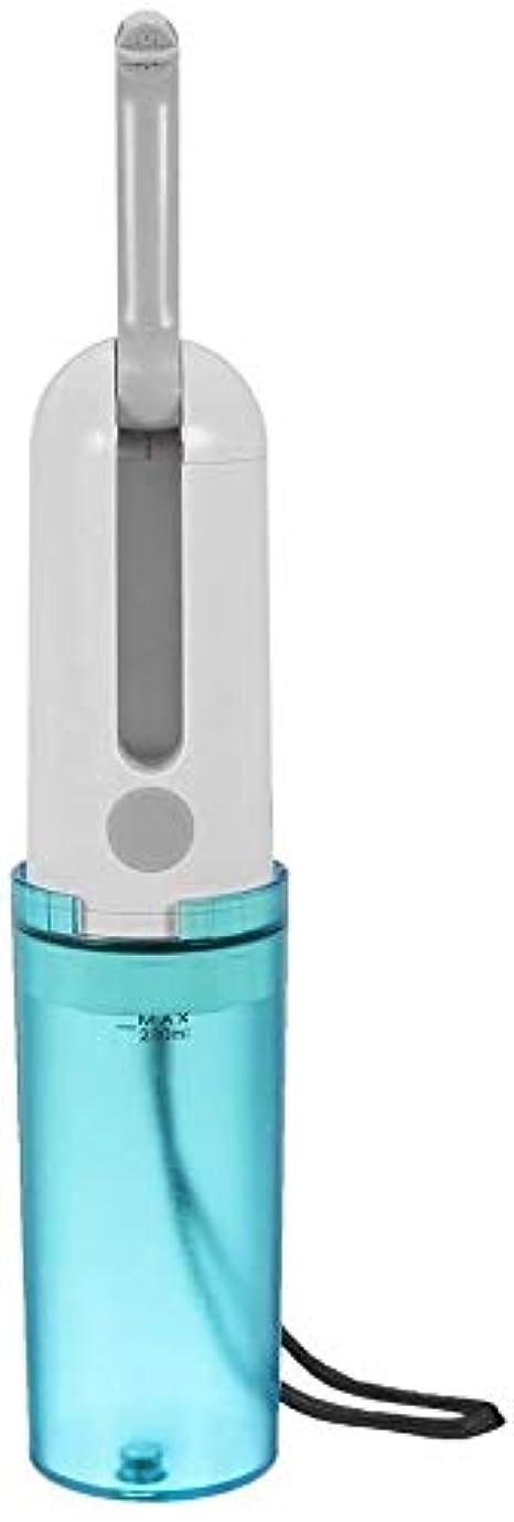 色ジョージスティーブンソン息を切らしてトイレのためのポータブルビデ、を備えたポータブル旅行エレクトリックトイレ180°キャンプ旅行ドライバー個人衛生のための調節可能なノズルハンドヘルドパーソナルビデ空き瓶 8.15 (Color : Blue, Size : -)
