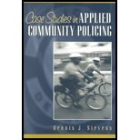 Case Studies in Applied Community Policing