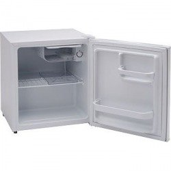 アビテラックス 46L 1ドア冷蔵庫(直冷式)ホワイトストラ...