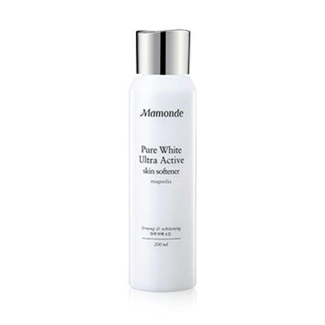 裕福な声を出してエキサイティングMamonde Pure White Ultra Active Skin Softener 200ml/マモンド ピュア ホワイト ウルトラ アクティブ スキン ソフナー 200ml [並行輸入品]