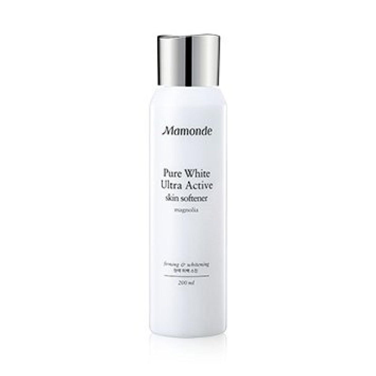 政治蓋あたたかいMamonde Pure White Ultra Active Skin Softener 200ml/マモンド ピュア ホワイト ウルトラ アクティブ スキン ソフナー 200ml [並行輸入品]