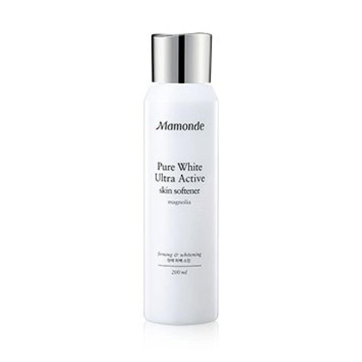 楽観モジュールくびれたMamonde Pure White Ultra Active Skin Softener 200ml/マモンド ピュア ホワイト ウルトラ アクティブ スキン ソフナー 200ml [並行輸入品]