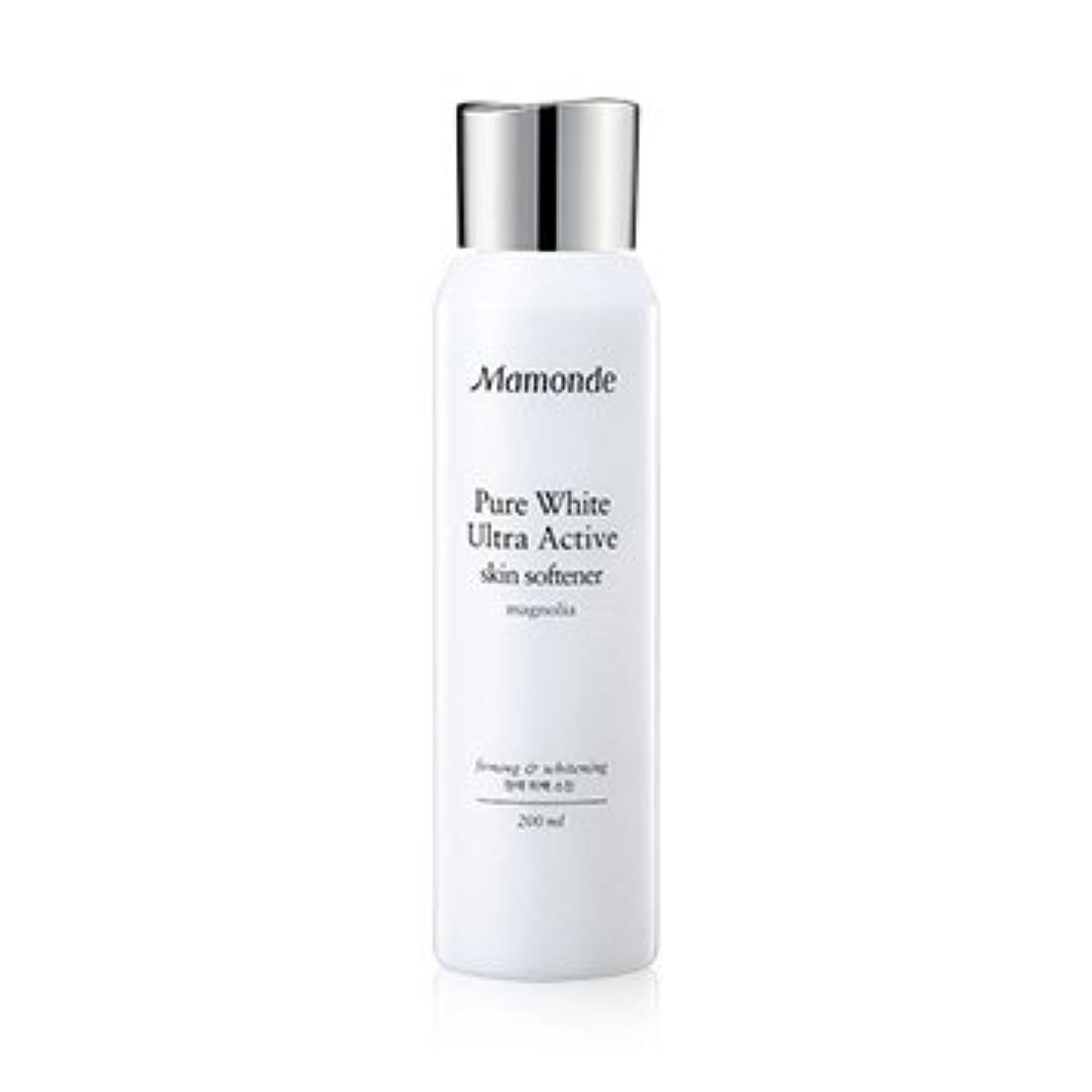 熟読する暗殺拡大するMamonde Pure White Ultra Active Skin Softener 200ml/マモンド ピュア ホワイト ウルトラ アクティブ スキン ソフナー 200ml [並行輸入品]