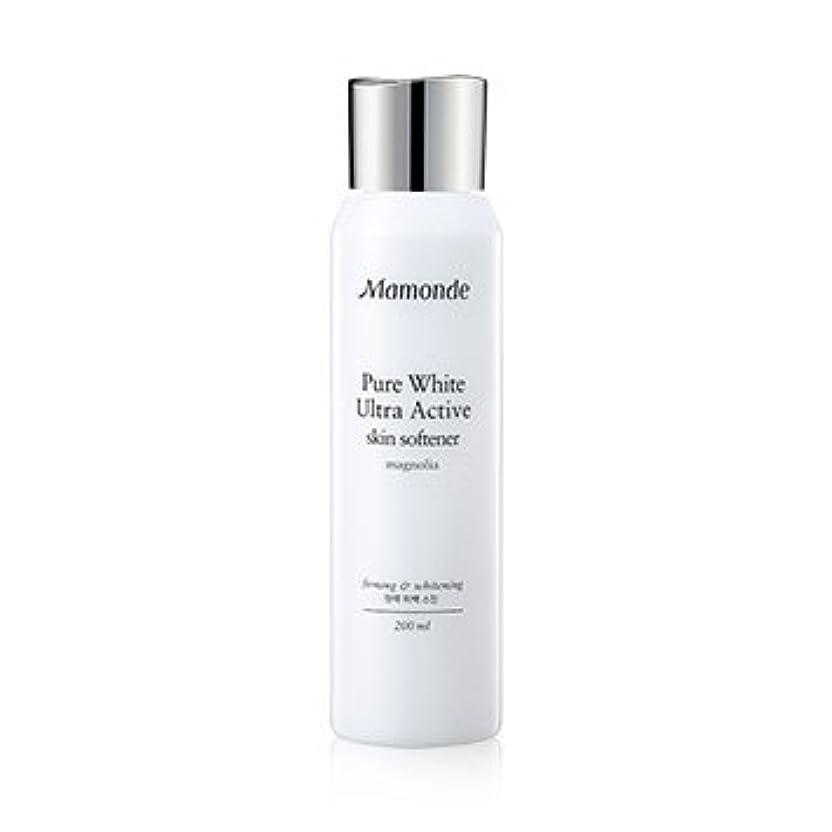 日常的にトランスペアレント閉塞Mamonde Pure White Ultra Active Skin Softener 200ml/マモンド ピュア ホワイト ウルトラ アクティブ スキン ソフナー 200ml [並行輸入品]