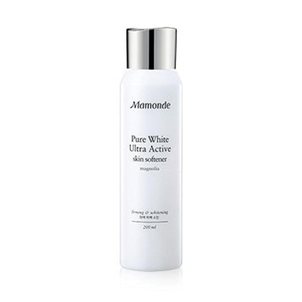 Mamonde Pure White Ultra Active Skin Softener 200ml/マモンド ピュア ホワイト ウルトラ アクティブ スキン ソフナー 200ml [並行輸入品]