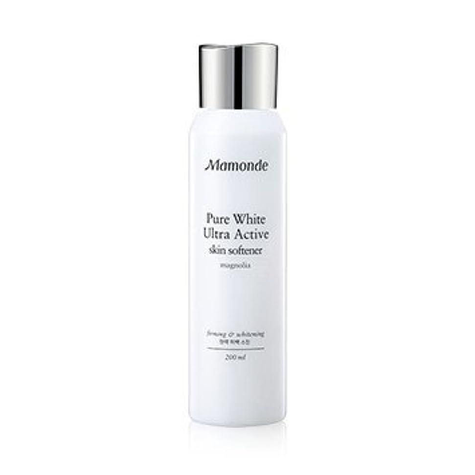 脚本家奇妙なぴったりMamonde Pure White Ultra Active Skin Softener 200ml/マモンド ピュア ホワイト ウルトラ アクティブ スキン ソフナー 200ml [並行輸入品]