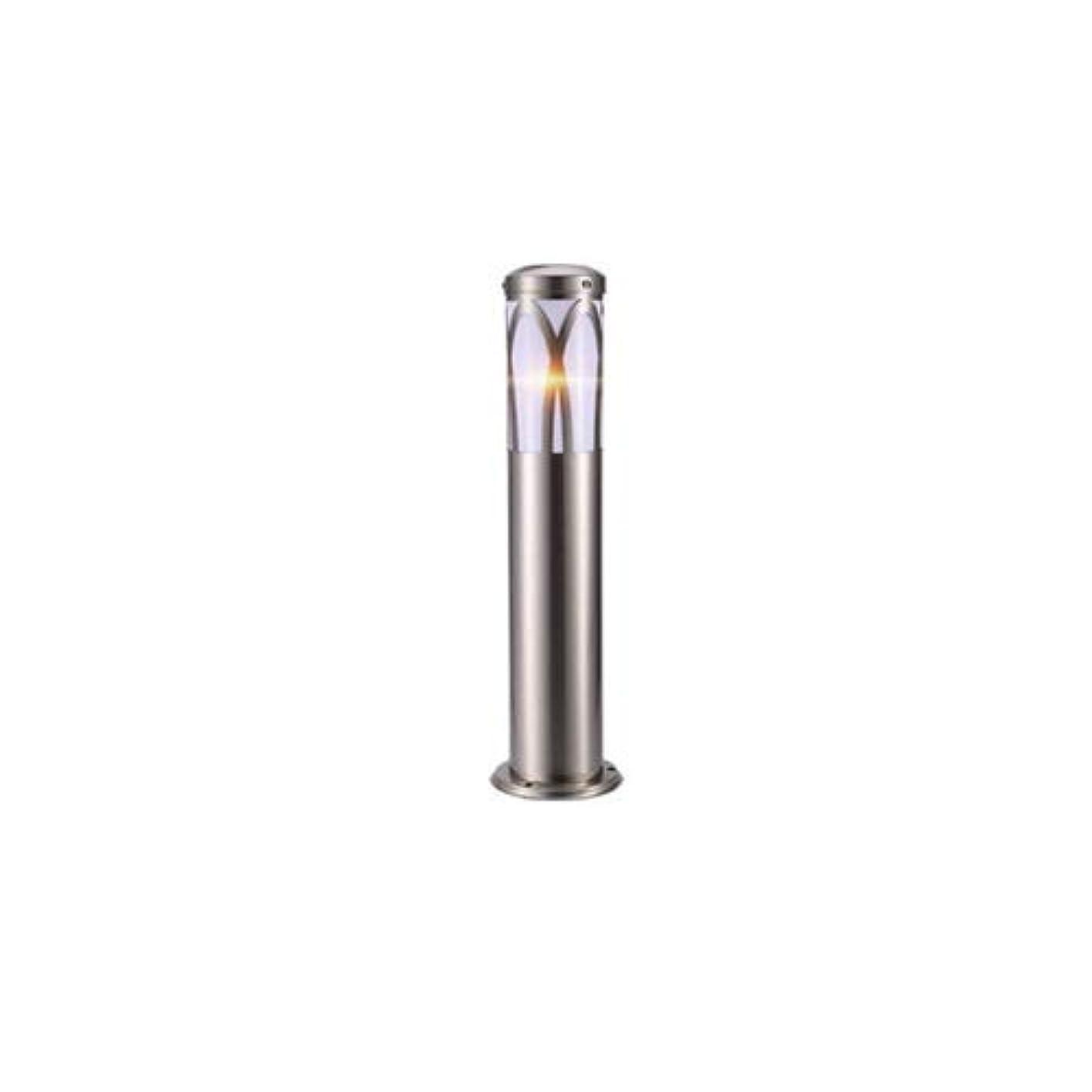 呼ぶ代表出費Pinjeer E27シルバーステンレス鋼IP55防水屋外アクリル芝生ライト高さ60センチヨーロッパ現代クリエイティブ風景照明ポストライトガーデンヴィラストリート装飾コラムランプ (Color : Style-A)