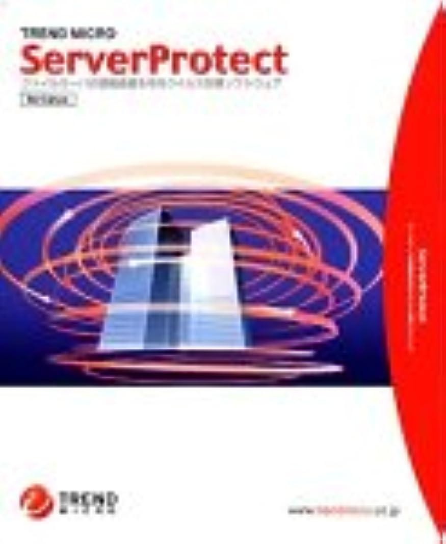 ジャンクオフェンス休暇ServerProtect for Linux Ver1.0