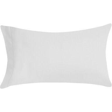 R.T. Home - エジプト高級超長綿ホテル品質枕カバー 50*80CM 500スレッドカウント サテン織り 白(ホワイト) マクラカバー 封筒式 50×80CM