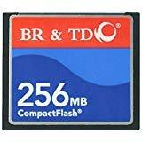 コンパクトフラッシュメモリカードBR & TD ogrinalカメラカード256MB