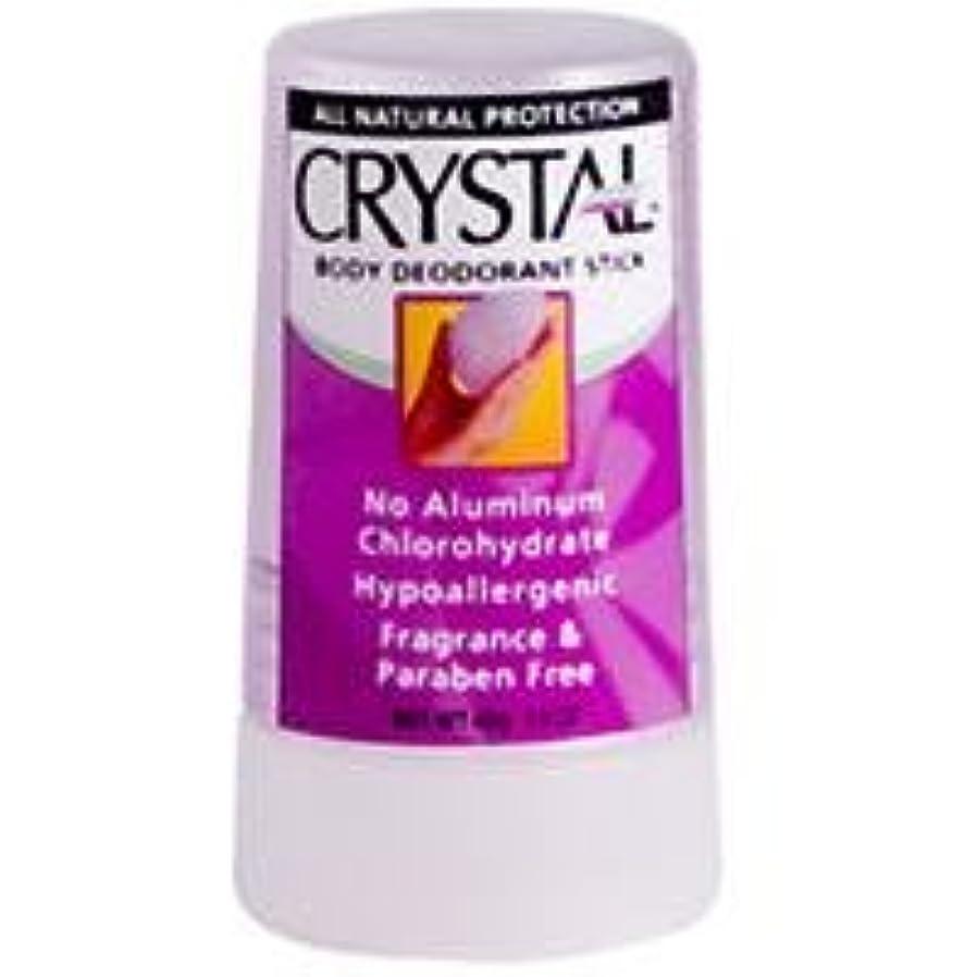 雷雨レイプ奨学金[海外直送品] クリスタル(Crystal) ボディデオドラント トラベルスティック(無香料) 40g