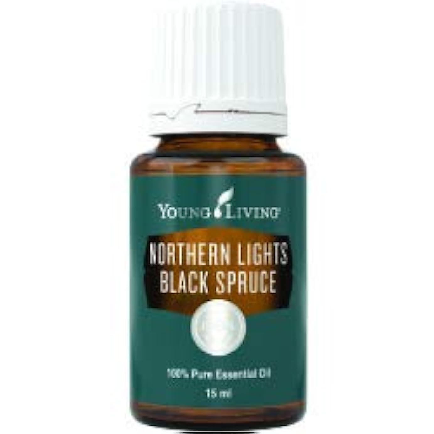 振り返る怒っている報奨金ノーザンライツブラックスプルースエッセンシャルオイル15ml byヤングリビングエッセンシャルオイルマレーシア Northern Lights Black Spruce Essential Oil 15ml by Young...