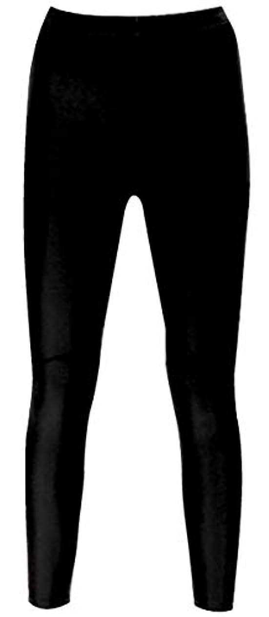 マッサージピック漫画シェイプコーチサウナ ロングスパッツ ブラック L-LL