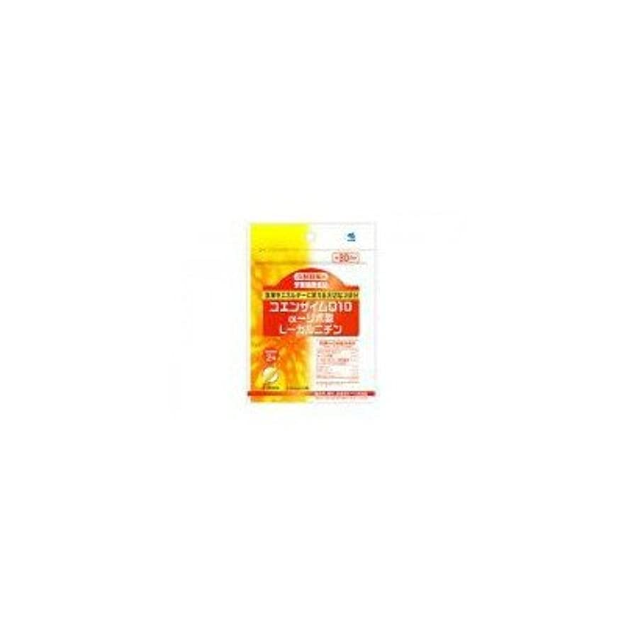 意外スイッチ種類小林製薬の栄養補助食品 コエンザイムQ10+αリポ酸+Lカルニチン(60粒 約30日分) 4セット