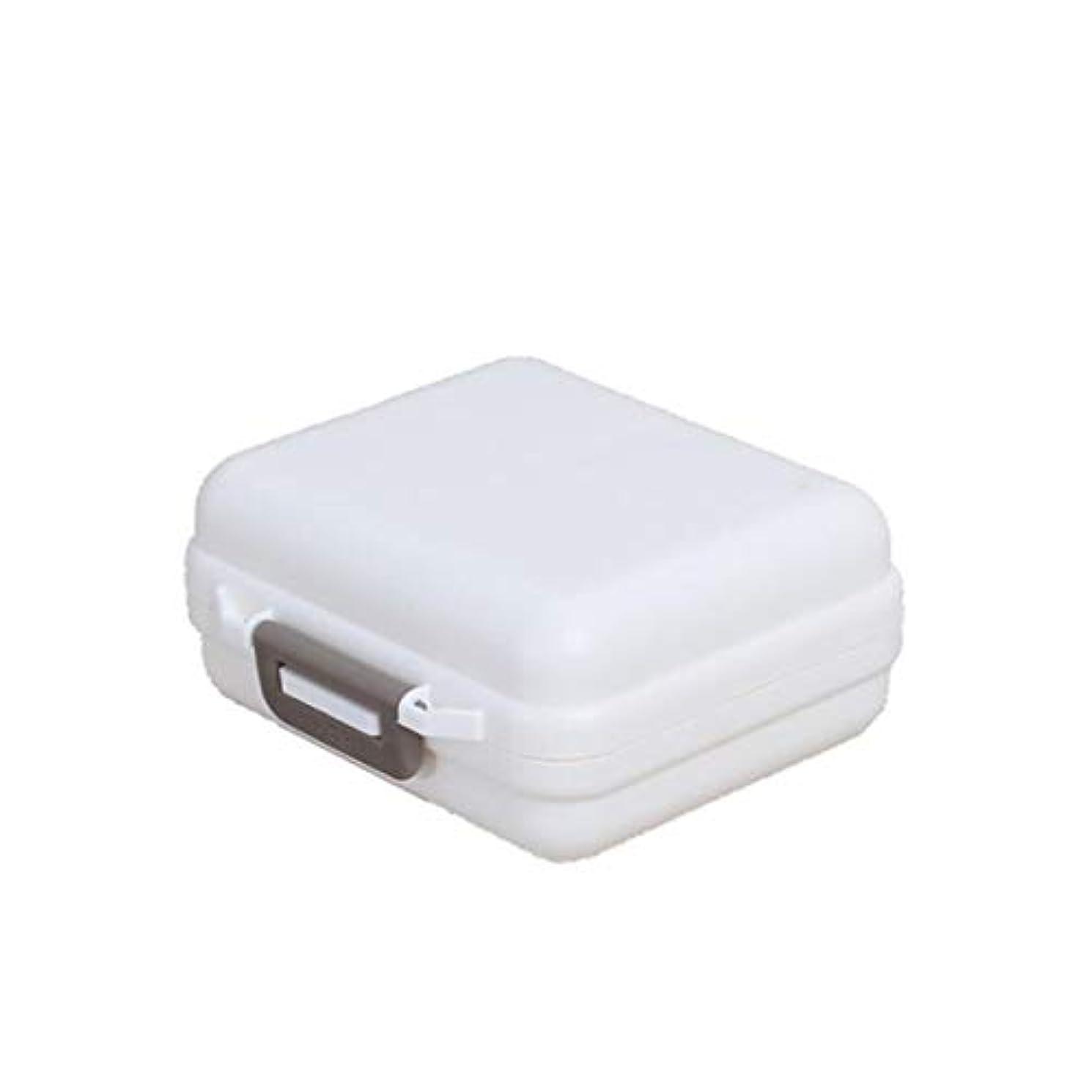 怠惰サーバント機械的Bigsweety 薬ケース ピルケース 携帯用 旅行 1週間 サプリメントケース ケース ピルケース キー 薬入れ 小型収納ケース 多機能トラベルポータブル