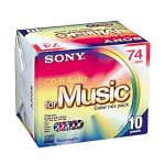 SONY 10CRM74CRAX CD‐R AUDIO