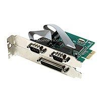 Monoprice PCI - Express 2xデュアルRS - 232シリアルポートと1xパラレルポートカード(106195)