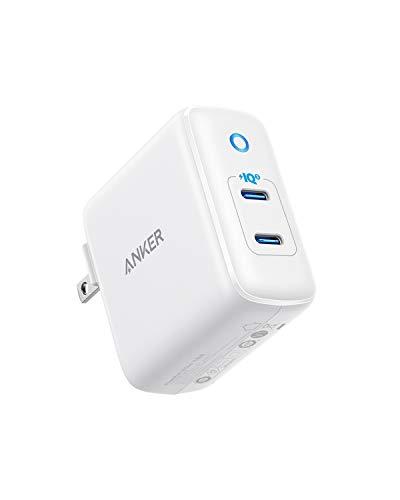 Anker PowerPort III Duo (PD対応 36W 2ポート USB-C 急速充電器) 【PSE認証済/折りたたみ式プラグ搭載/PowerIQ 3.0搭載 / Power Delivery対応/コンパクトサイズ】iPhone & Android対応