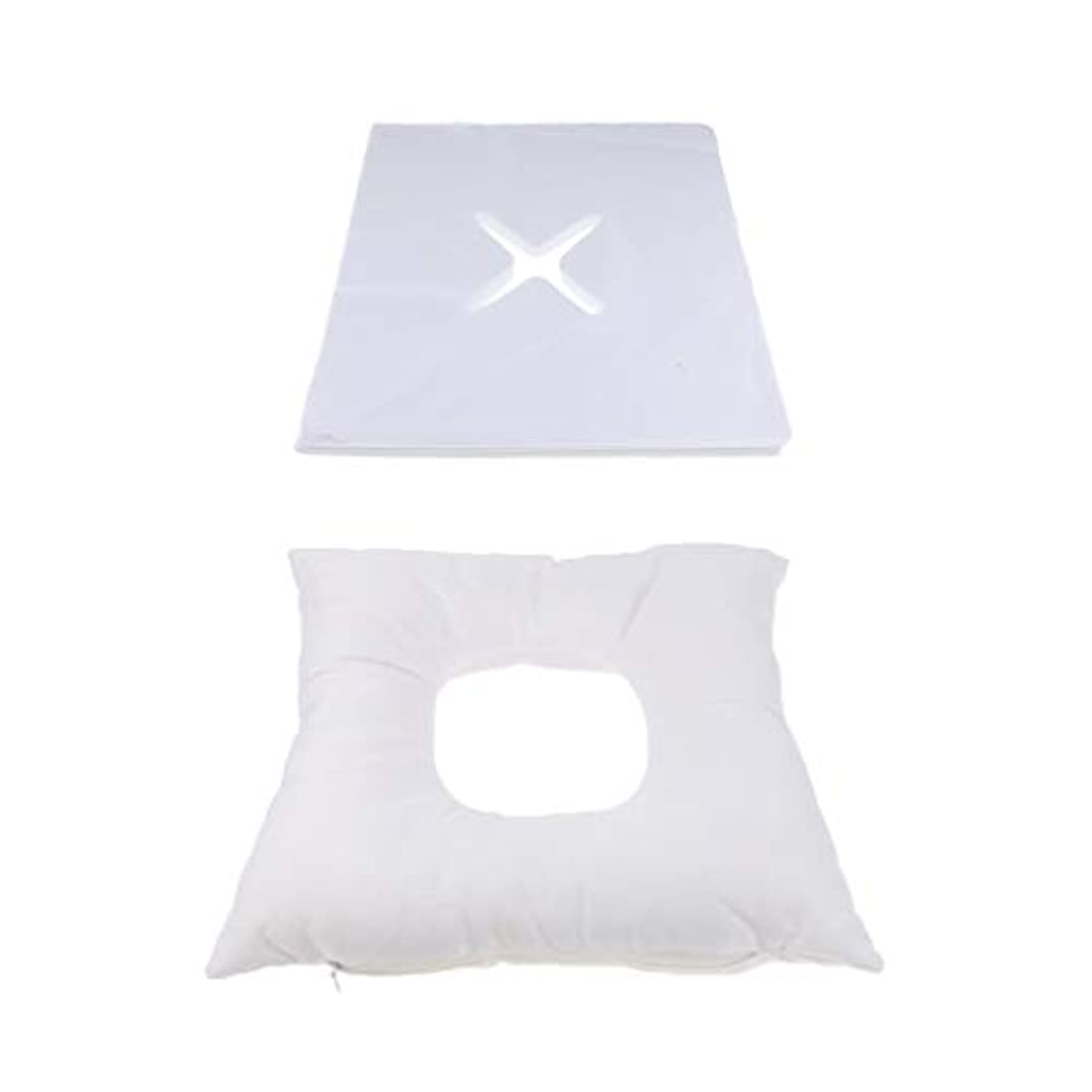適合しました急襲幾何学dailymall 200使い捨てカバーセットキットとスパマッサージベッド顔クレードルクッション枕