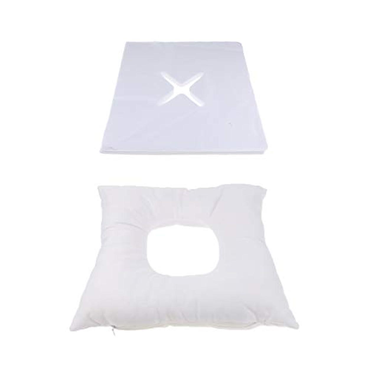 拷問右委託dailymall 200使い捨てカバーセットキットとスパマッサージベッド顔クレードルクッション枕