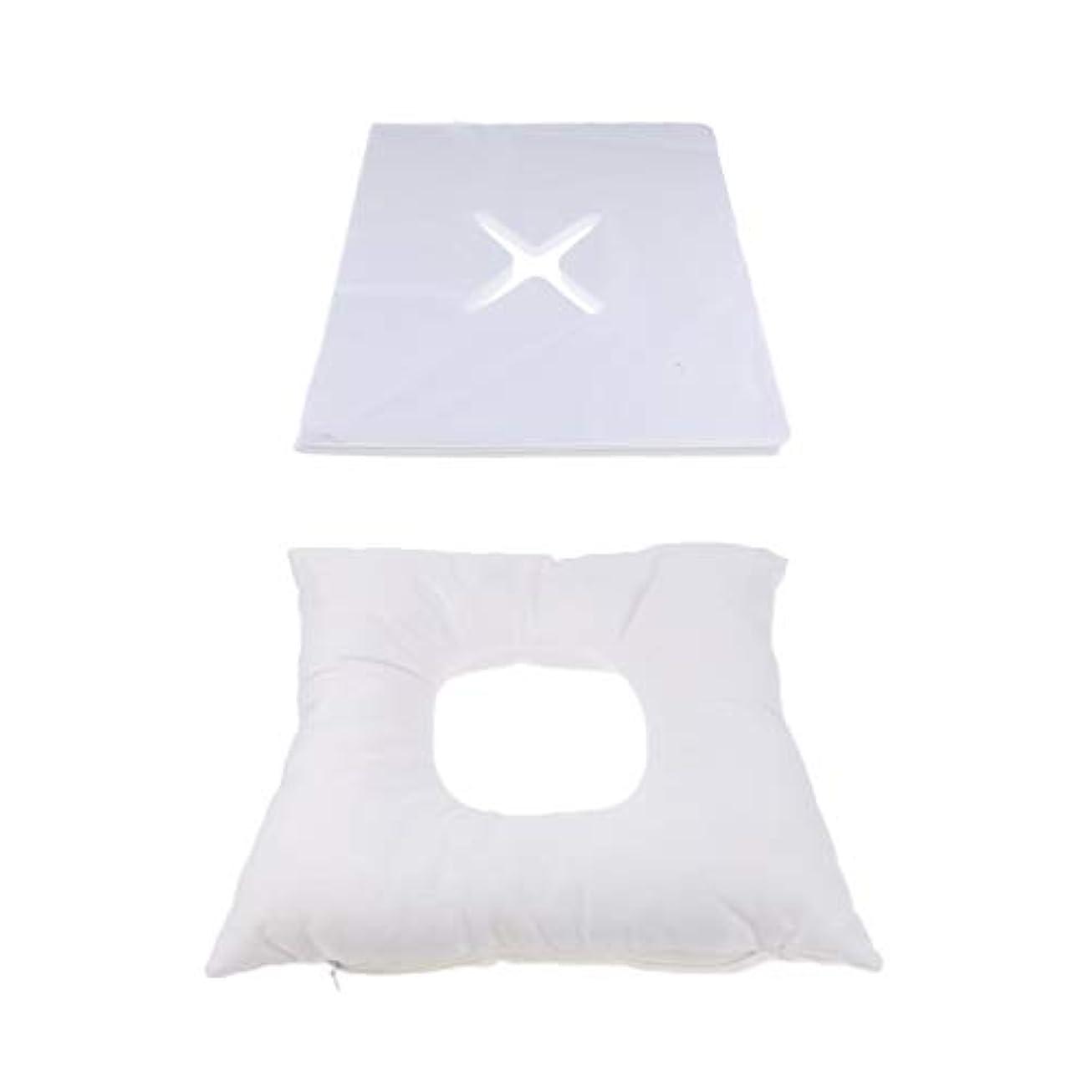 階段推定量でBaoblaze フェイスマット マッサージ枕 顔枕 エステマクラ 200個使い捨てピローカバー付き サロン 家庭用