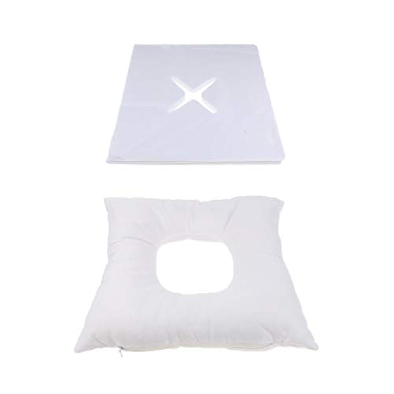 施しでる大胆不敵dailymall 200使い捨てカバーセットキットとスパマッサージベッド顔クレードルクッション枕