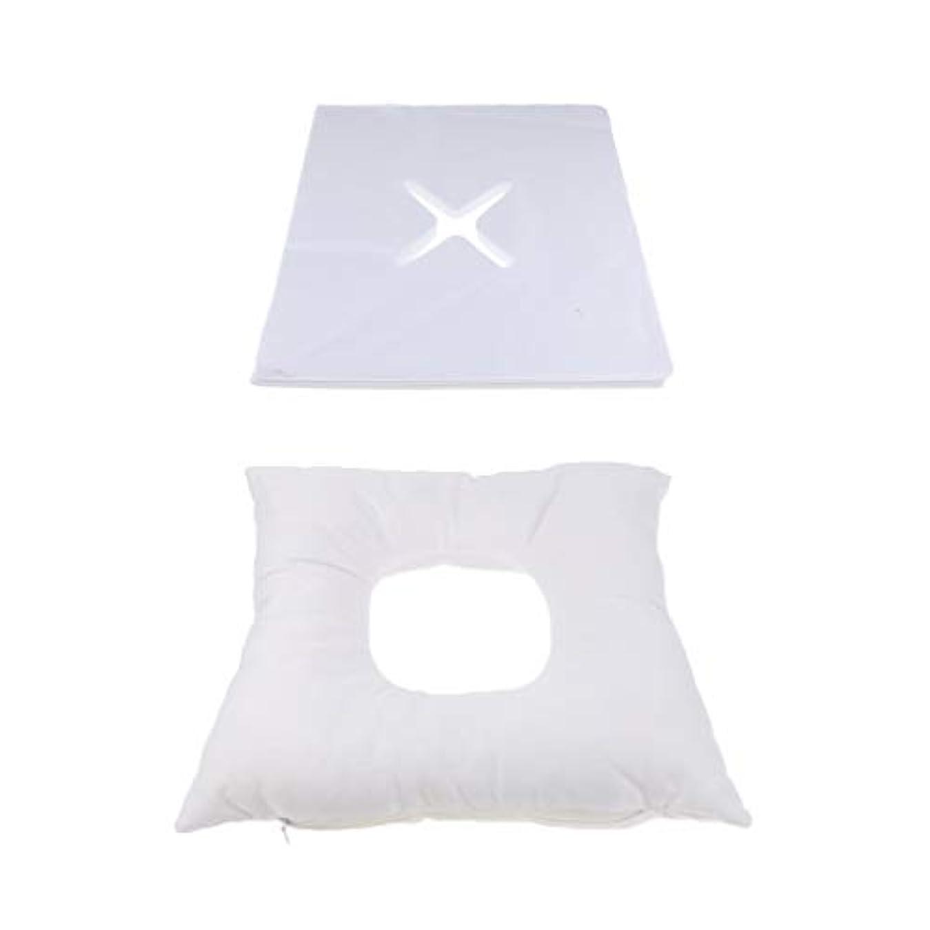 ライブオフ疑い者dailymall 200使い捨てカバーセットキットとスパマッサージベッド顔クレードルクッション枕
